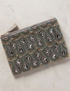 Eye-catching Beaded Bastina Clutch #anthrofave http://rstyle.me/n/tz8y2bh9c7