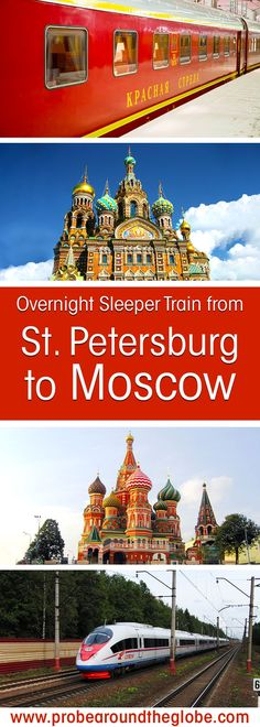 If you plan to visit Russia and see the biggest cities, you might consider to travel by train from St. Petersburg to Moscow. The Saint Petersburg to Moscow train is fast, comfortable and brings you to the heart of the city. Read here what it is like to travel on the overnight sleeper trains St. Petersburg to Moscow. #russia #trains