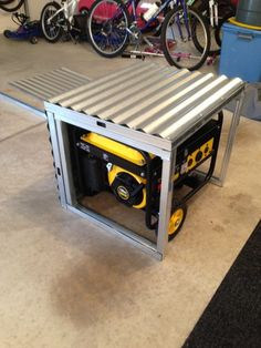 Simple Enclosure For My Champion Generator Page 1 Ar15 Com Shed