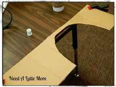 Need A Latte Mom: How to make a Balloon Arch She uses a cardboard guide to make all the balloons the same size.
