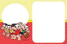 convite turma da Mônica para editar #turmadamônica #festaturmadamonica #convites #convitespersonalizados Alice, Snoopy, Kids Rugs, Toys, 81, Lorraine, Banners, Google, Invitation Birthday