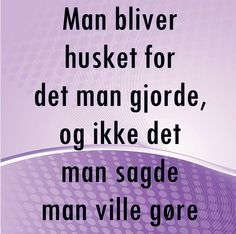 gennemsigtig ordsprog på dansk