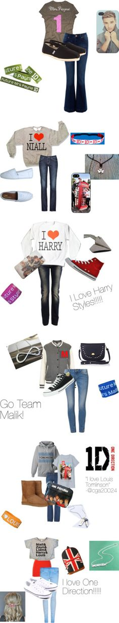 """The One Direction Collection"" by sassycassie2002 ❤ liked on Polyvore"