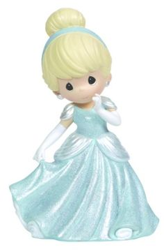 "The Disney Cinderella Rotating Musical Figurine from Precious Moments is a beautiful rendition of the classic Disney princess. Her gown appears to be made of twinkling stars and it even plays ""A Dream Is A Wish Your Heart Makes"" as it rotates. Disney Precious Moments, Precious Moments Figurines, Disney Figurines, Collectible Figurines, Disney Statues, Deviant Art, Disney Music Box, Biscuit, Disney Princess Cinderella"