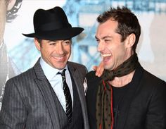 """Robert Downey Jr. and Jude Law have guaranteed that 'Sherlock Holmes: A Game of Shadows' will delve deeper into the """"bromance"""" between Sherlock Holmes and Dr. Watson."""
