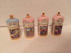 Lenox Walt Disney Spice Jars Lot Pluto Mickey Mouse Goofy Snow White | eBay