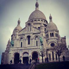 Voici le sacré coeur de Paris