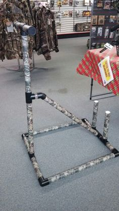PVC bow & arrow stand for 2