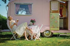 Someday I will have a little camper like this for my own