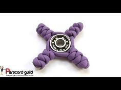Fidgeting with paracord- paracord spinner