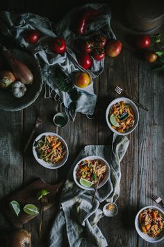Thai Red Curry Noodles by Eva Kosmas Flores | Adventures in Cooking