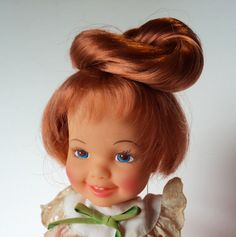 Vintage Cinnamon Doll Ideal Hairdoodler 70's with Original Box and Instructions Collectable