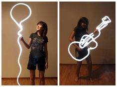 easy light painting ideas - Google Search
