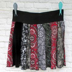 Handmade Cotton T Shirts Skirt Circle Skirt by ThankfulRose