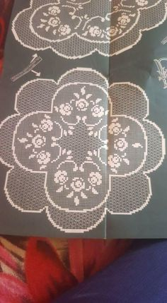 Crochet Curtains, Crochet Doilies, Filet Crochet Charts, Cross Stitch Flowers, Irish Crochet, Crochet Projects, Rose, Magnolia, Patterns