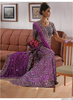 gold and purple indian suit - Google Search