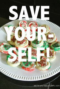 tell it to your neighbor!: Easy Christmas Cookies