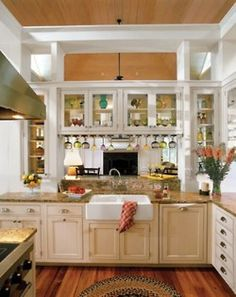 Yep...that's right. If the stars align, this is my kitchen in less than 365 days. Minus those cabinets over the sink...can't stand ducking to see folks!