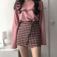 Me_eara tags asian korean fashion girls outfits style aesthetic cute ulzzang girl pink rosa feed inthecloset_insta 43 trendy fashion outfits korean posts Trend Fashion, Korean Fashion Trends, Korean Street Fashion, Cute Fashion, Asian Fashion, Look Fashion, Girl Fashion, Fashion Women, Daily Fashion