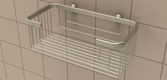 Extra Deep Shampoo Basket | #shampoo #shower #bath #bathroom #shelf #basket