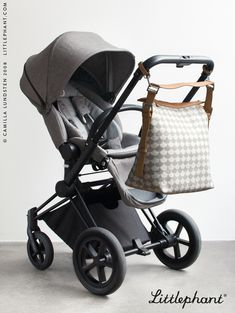 Our Scandinavian Ultimate Functions Bag has lots of details that make it perfect not only as an everyday bag, but as a Diaper bag/Changing bag for your baby. It has an easily adjustable shoulder strap, many clever pockets for storing and keeping everything you need in place - like your phone, water bottle and laptop. And last but not least, you can buy our functional mobility straps, making it easy to hang the bag on the pram. Designed by Camilla Lundsten.