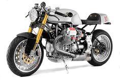 '00 Moto Guzzi V11 Sport – Santiago Choppers | Pipeburn.com
