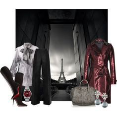 """""""French Burgandy"""" by tjinwa on Polyvore"""