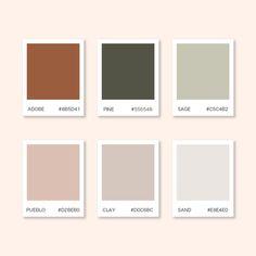 Color Palette For Home, Website Color Palette, Earthy Color Palette, Neutral Colour Palette, Website Color Schemes, Pantone Colour Palettes, Pantone Color, Couleur Html, Warm Colors
