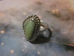 Jewelry, rings, Royston turquoise, genuine turquoise ring, turquoise, silver, sterling silver, sterling rings, silver rings, gemstone rings. on Etsy, $29.00