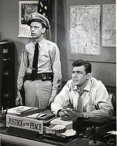 Andy Griffith Don Knotts Barney Fife Mayberry Deputy Fife Vintage Photo Great | eBay