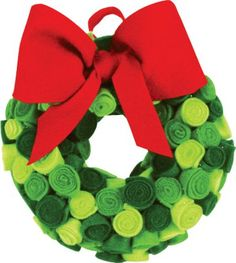 We are making this. Welcome to Whoville- Felt Wreath. Project sheet can be found here: http://www.craftsdirect.com/default.aspx?PageID=311&ProjectID;=585