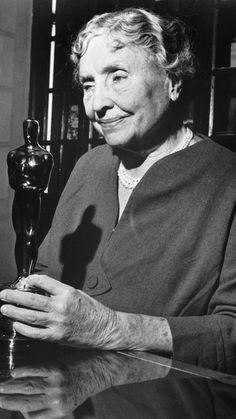 Helen Keller and 32 other inspiring women.