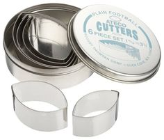 Amazon.com: Ateco 6 Piece Plain Hexagon Cutter Set: Cookie Cutters: Kitchen & Dining