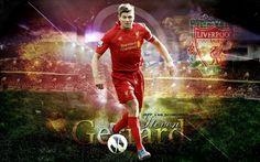Steven Gerrard Liverpool 2013 Best HD Wallpapers
