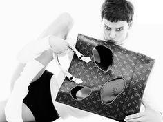 Rei Kawakubo para Louis Vuitton (Foto: Divulgação)