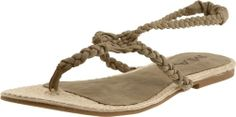 MIA Women's Plaka Sandal,Stone,7 M US This shoes / sandals / boots style name or model number is Plaka. Color: Stone. Material: Synthetic Upper and Man-Made Outsole. Measurements: 0.25 heel. Width: B.  #MIA #Shoes