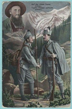 Alpen  troops of the Austro-Hungarian Army
