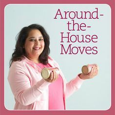 Easy Exercises to Do Around the House  http://weightlossshack.com