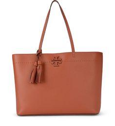 312233e9982f6 TORY BURCH MCGRAW SOFT RUST TUMBLED SHOPPER.  toryburch  bags  hand bags   lining