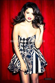 Selena Gomez 2012 Glamour Magazine