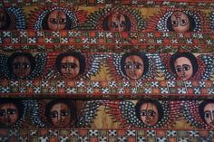 Church Ceiling, Gondar, Ethiopia