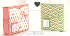Fold Flat Box Tutorial for 3x3 Cards & Envelopes