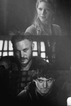 Lagertha, Ragnar Lodbrok, Athelstan