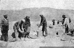 Manejo de explosivos Chuquicamata 1929