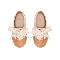 Blucher with crochet detail - Shoes - Baby girl - Kids - ZARA United States