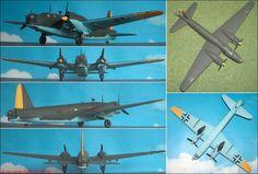 """Vickers """"Wellington"""" B.Mk.X als deutsches Beuteflugzeug (Matchbox 402) 1:72"""