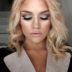 Love this makeup and the haircut