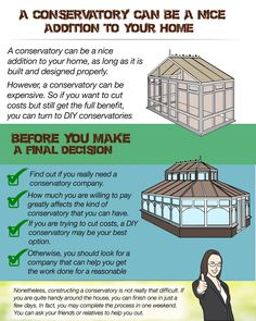With being an important extension to your home adding an added value to your property, the aesthetic value added is indeed conspicuous! Diy Conservatory, Aesthetic Value, Conservatories, Home Values, Steel, Design, Iron