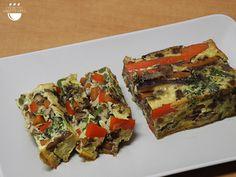 Pastís de verdures // Pastel de verduras