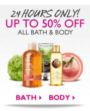 GREAT DEAL . . .  24 Hour Only Up to 50% Off On all Bath and Body Products  For More Info Go To: http://www.thebodyshop-usa.com/gifts/view-all-gifts/love-etc-gift-set.aspx?mr:trackingCode=3BDAAED4-87D5-E111-8A92-BC305BEDEAD8:referralID=NA=FJXG_ExDiLk-wUb35a4auMLvZM3RBfnppA_mmc=LS-_-Default-_-generic-_-other#
